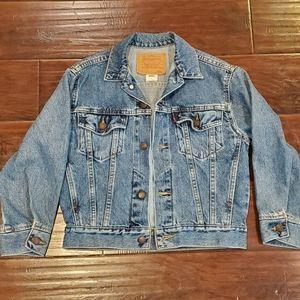 Levi's Denim Jean Trucker Jacket Womens Small S